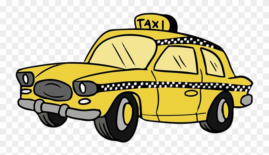 Free Cartoon Taxi Cab Clip Art Taxi Clipart 900.