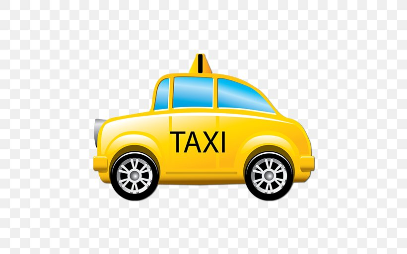 Taxi Yellow Cab Clip Art, PNG, 512x512px, Taxi, Automotive.