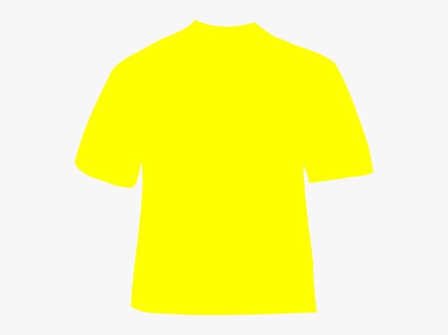 Tshirt Clipart Yellow Bag.