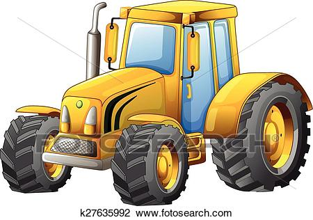 Tractor Clipart.