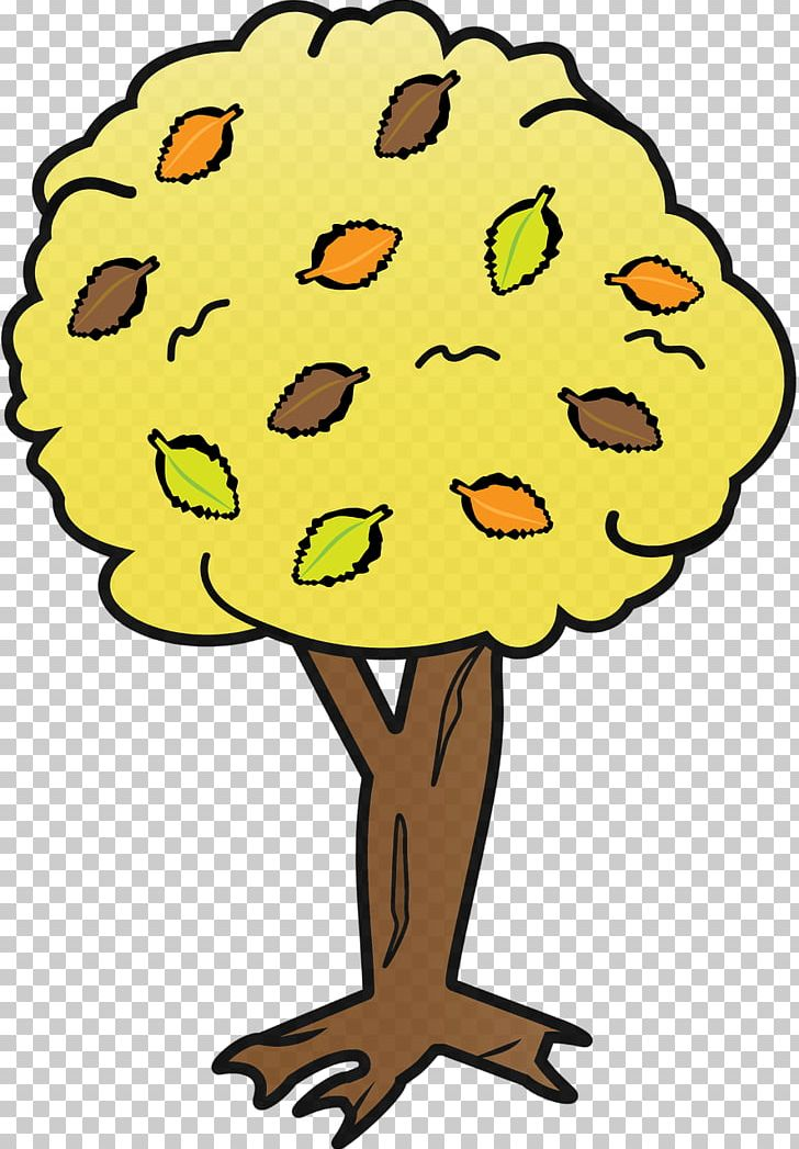 Yellow Tree PNG, Clipart, Artwork, Autumn, Autumn Leaf Color.