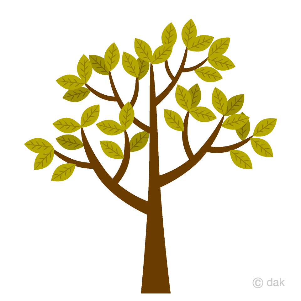 Free Fall Tree Clipart Image|Illustoon.