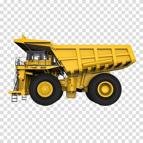 Car Youga Haul truck Dump truck, Yellow truck transparent.