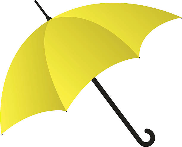 yellow umbrella clipart - Clipground