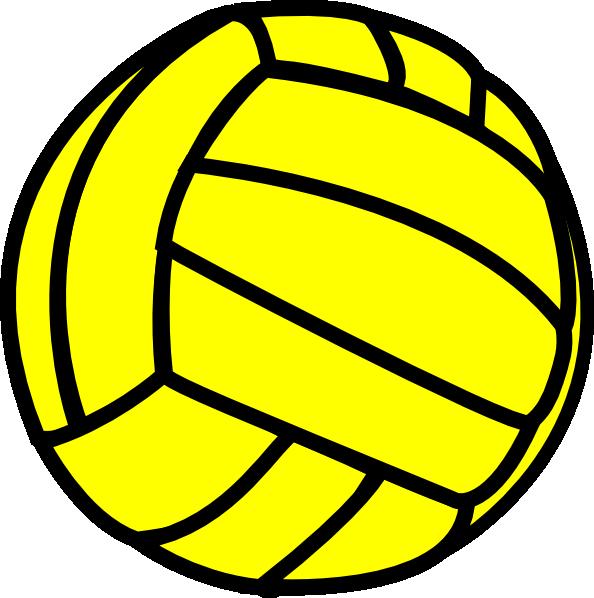 Yellow Volleyball Clip Art at Clker.com.