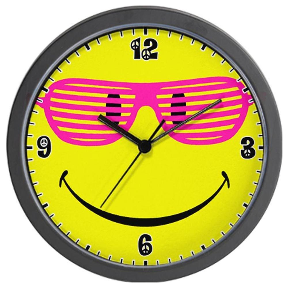 Artsmith Yellow Wall Clock.