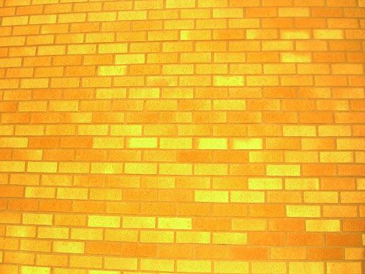 Cartoon Brick Wall.