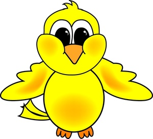 Yellow Bird Clipart.