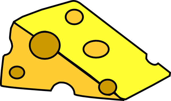 Yellow Cheese Clipart.