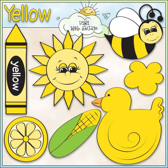 Learn The Color Yellow.