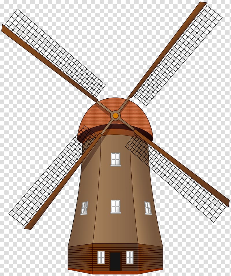 Windmill , WREATH WATERCOLOR transparent background PNG.
