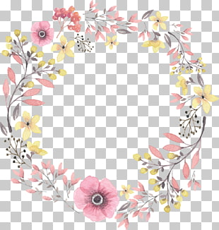 923 yellow Wreath PNG cliparts for free download.