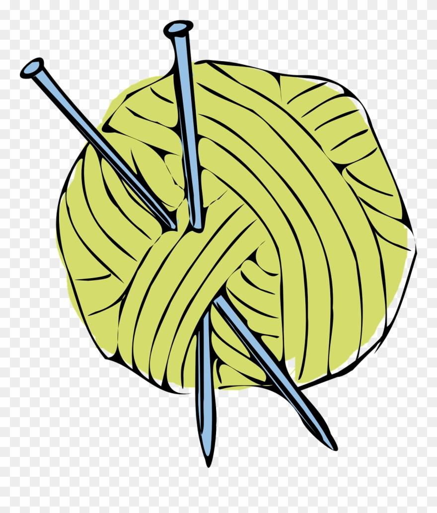 Yellow Yarn Clipart.