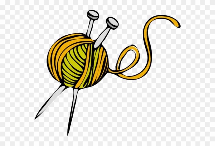Free Knitting Crochet Yarn Clip Art.