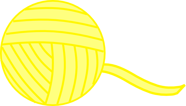 17303 Yellow free clipart.