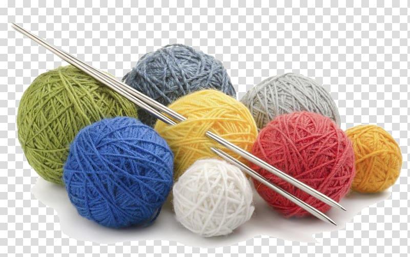 Knitting needle Yarn Hand.
