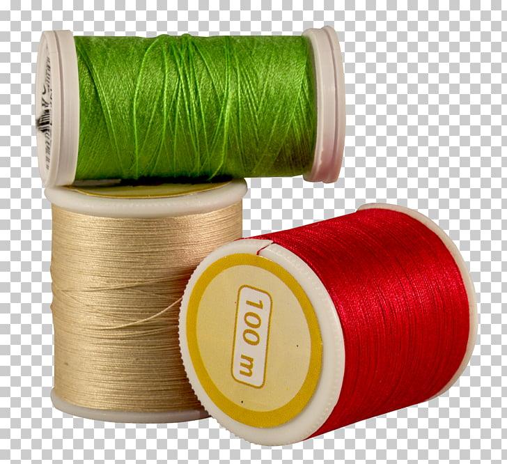 Yarn Pixabay Illustration, Colorful Threads, three brown.