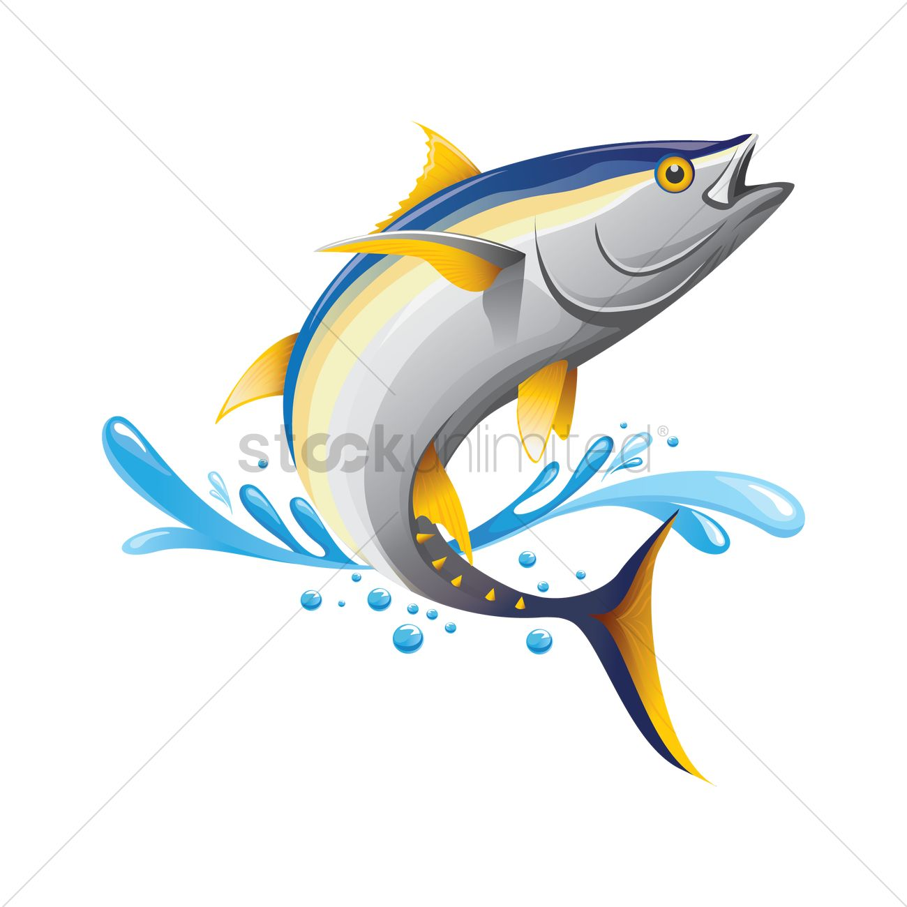 Tuna Vector at GetDrawings.com.