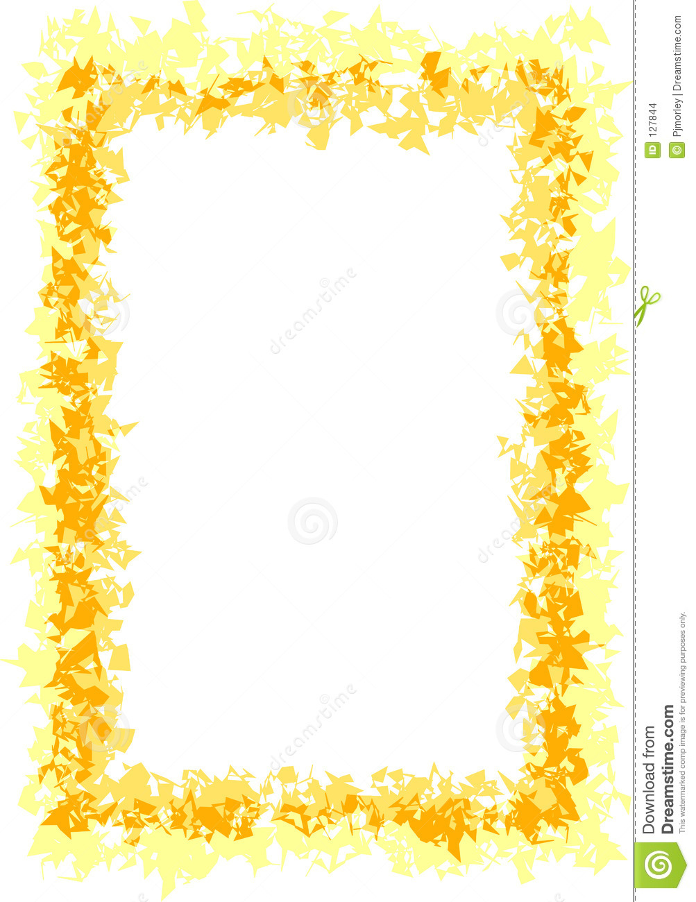 Yellow Border Clipart.