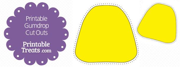 Yellow Gumdrop Clipart info.