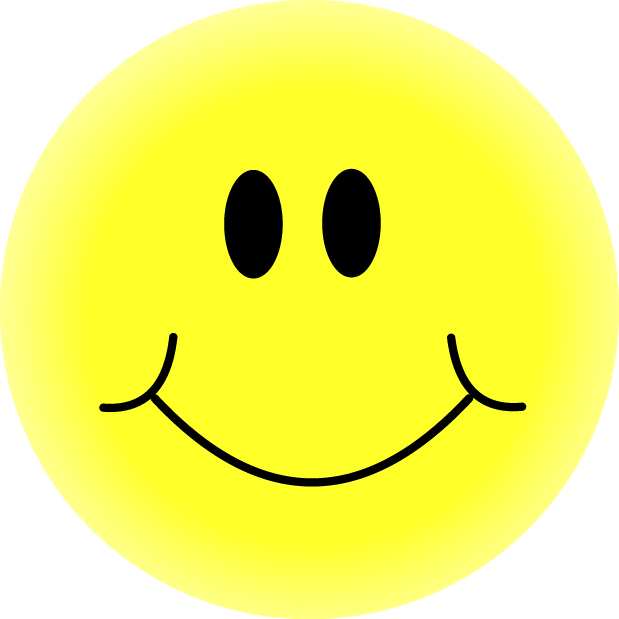 Yellow Happy Face Clip Art info.