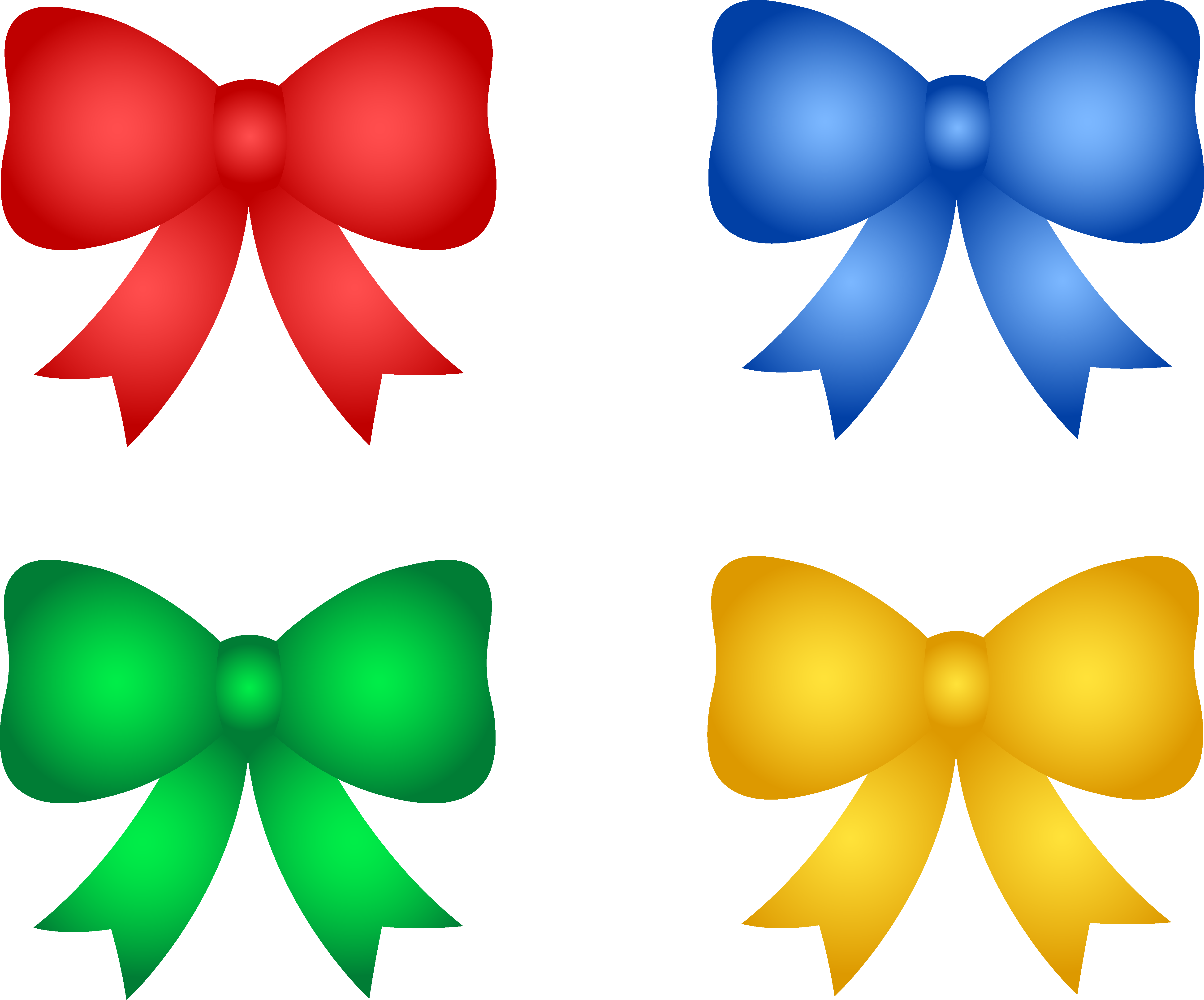 Cute Bow Clipart.