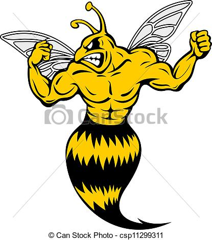 Yellow jacket Vector Clipart EPS Images. 740 Yellow jacket clip.