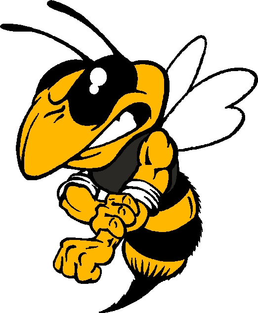 yellowjacket clipart head clipground hornet mascot clipart Hornet School Logos