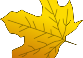 Yellow leaf clipart » Clipart Station.