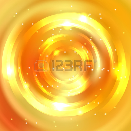 Abstract Circle Background, Vector Design. Glowing Spiral. The.