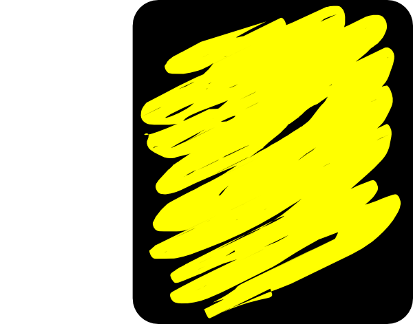 Yellow color clipart.