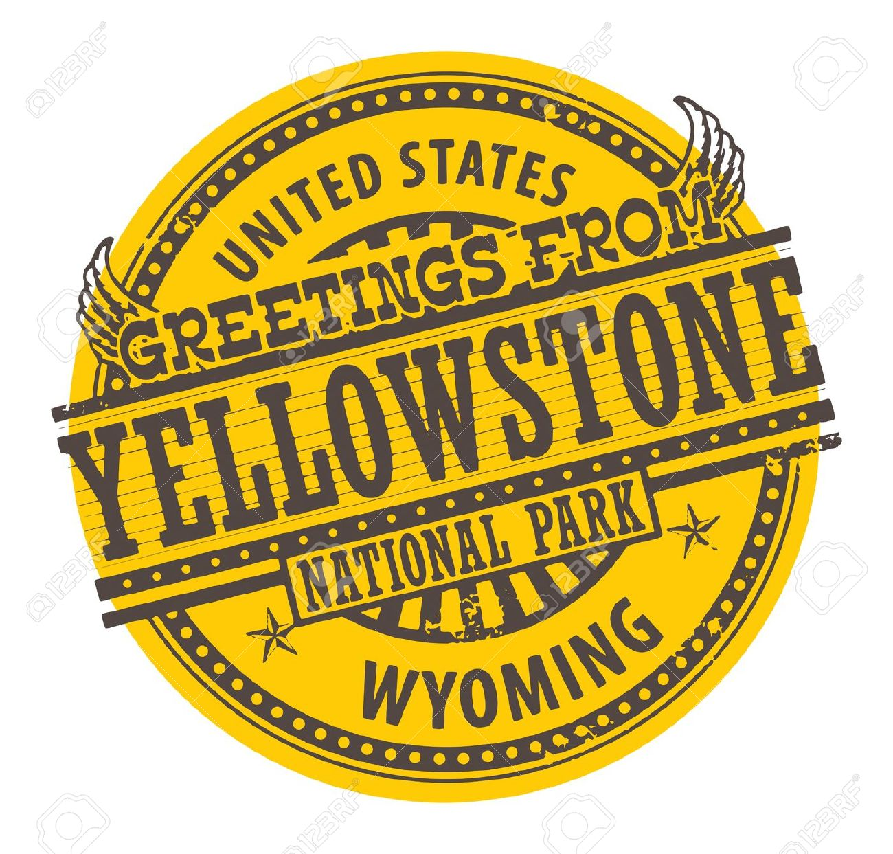 103 Yellowstone National Park Cliparts, Stock Vector And Royalty.