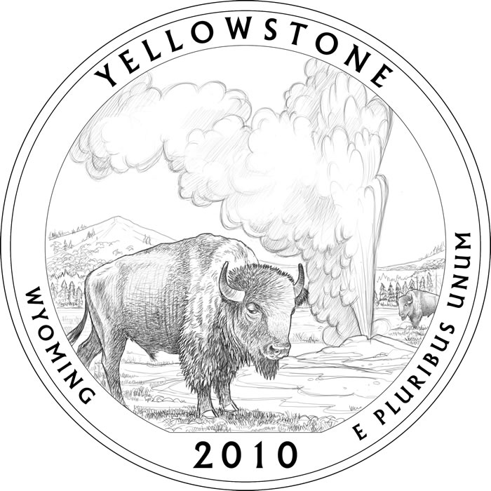 Clipart yellowstone national park.