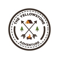 Free Yellowstone label Vector Image.