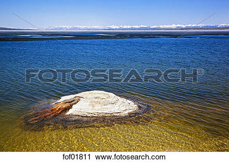 Stock Photography of USA, Yellowstone Park, The Fishing Cone.