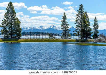 Lake Yellowstone Stock Photos, Royalty.