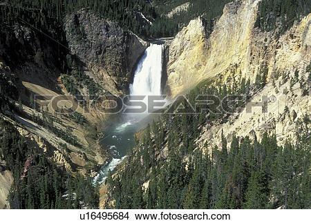 Stock Photo of WY, Wyoming, Yellowstone National Park, Yellowstone.