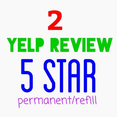 I will give you permanent yelp 5 star review.