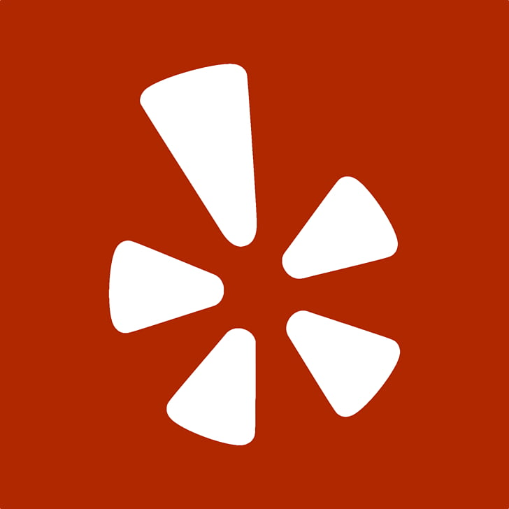 Computer symbol logo, Yelp, red and white logo PNG clipart.