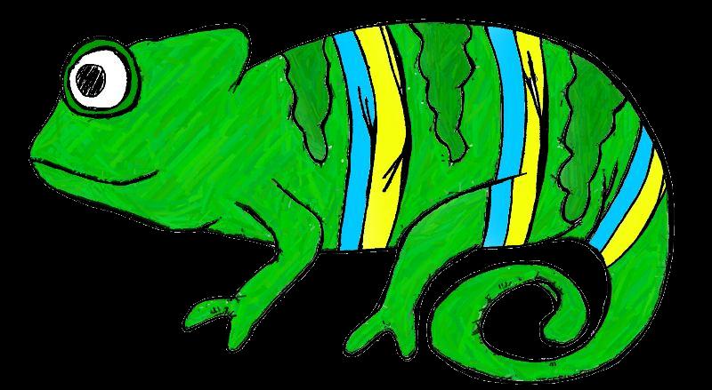 Veiled chameleon clipart graphics free clip art.