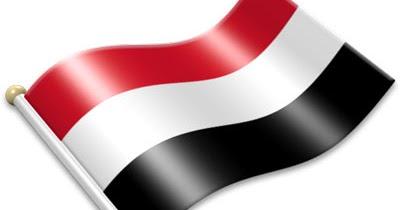 Flag Icons of Yemen.