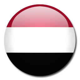 Button Flag Yemen Icon, PNG ClipArt Image.