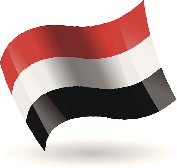 Yemen Flag Clip Art, Vector Images & Illustrations.