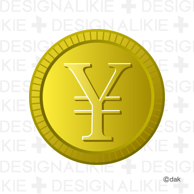 Coin money Yen mark|Pictures of clipart and graphic design and.