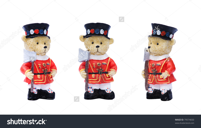 Generic Tourist Type Souvenirs Teddy Bear Stock Photo 79574650.