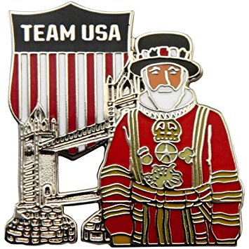 Amazon.com: Olympics 2012 Team USA Tower Bridge & Yeoman Pin.