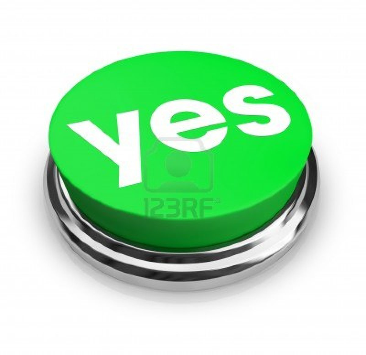 Clipart of the yes button free image.