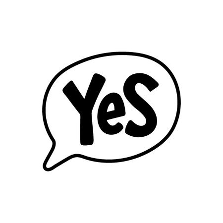 226 Saying Yes Stock Vector Illustration And Royalty Free Saying Yes.