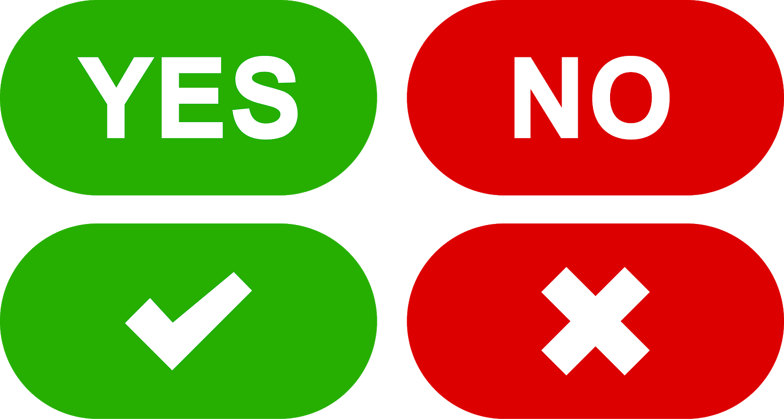 yes no buttons set download svg eps png psd ai vector color free.