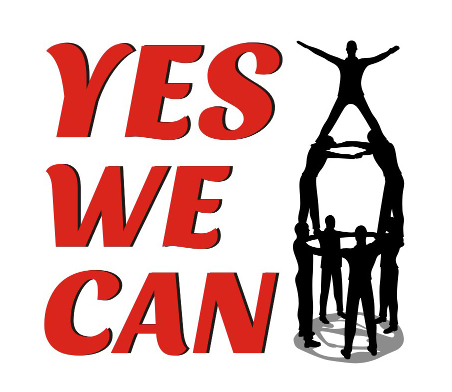 Yes We Can Clipart